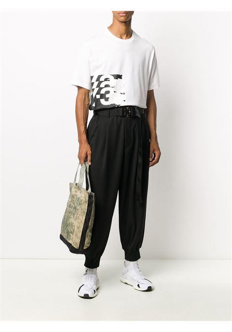 Pantaloni affusolati con tasche in nero - uomo Y-3 | GK4567BLK