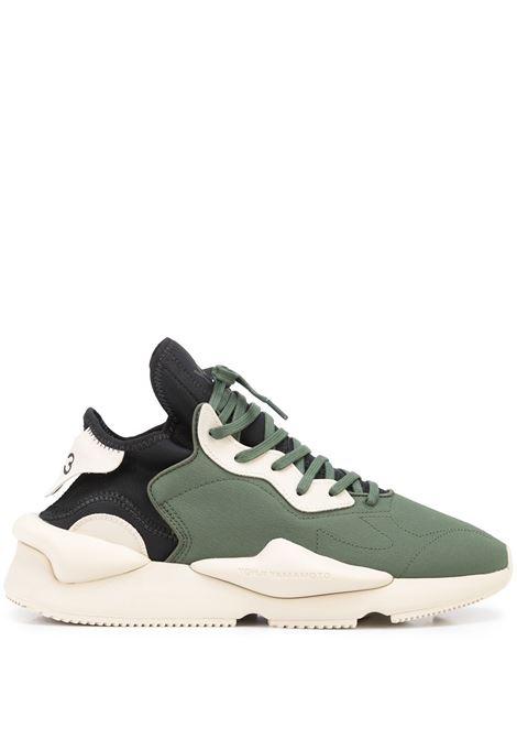 Sneaker basse kaiwa - uomo Y-3 | GZ9143GRNBRWNBLK