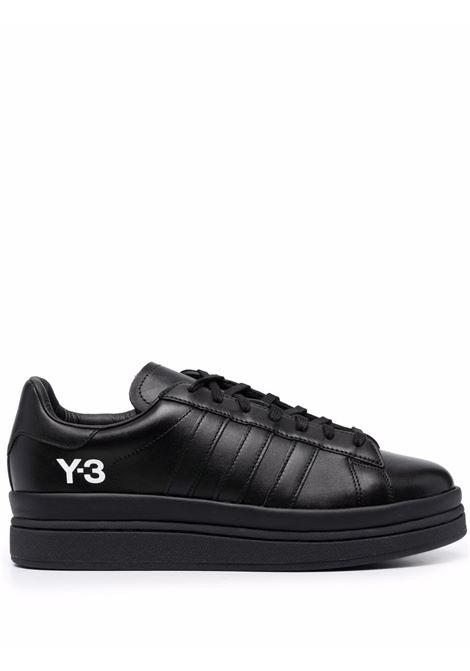 Sneakers basse in nero hicho in pelle - uomo Y-3 | GZ9147BLK