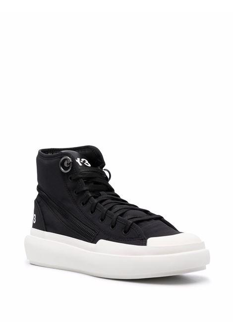 Sneakers alte ajatu court in nero - uomo Y-3 | H05621BLKWHT