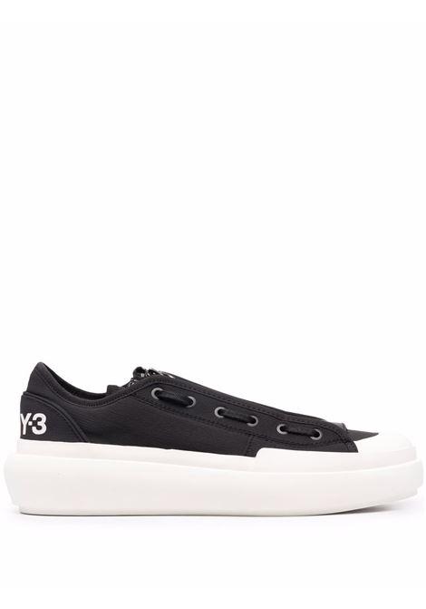 Sneakers basse ajatu court in nero - uomo Y-3 | H05625BLKWHT