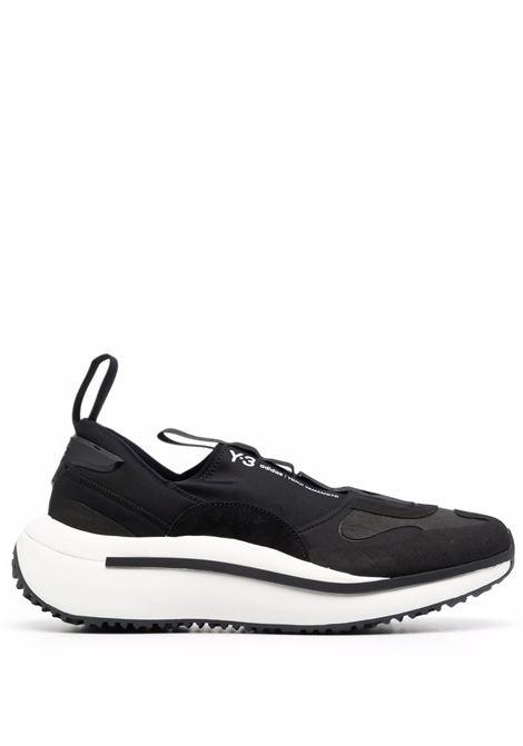 Sneakers Qisan Cozy in nero - uomo Y-3 | H05692BLKWHT