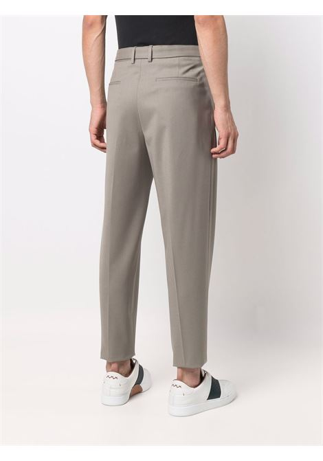 Smoke-grey high-waisted straight-leg trousers - men  Z ZEGNA | 2ZF0667ANEC2272