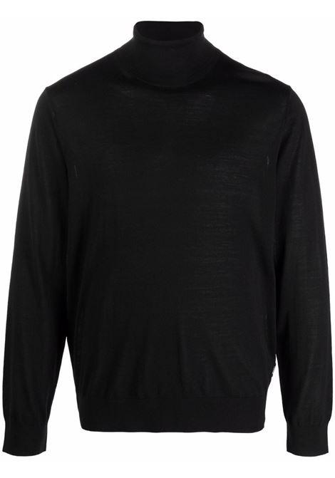 Maglione a collo alto in nero -uomo Z ZEGNA | VYM96ZZ120K09