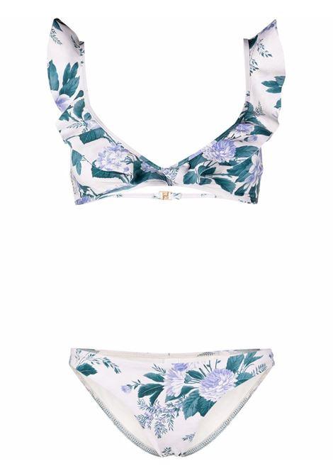 Bikini a fiori donna ZIMMERMANN | Costumi | 1737WCASHYFL