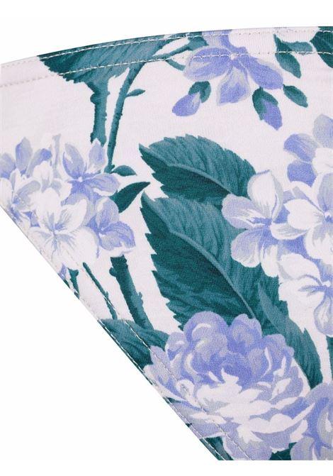 Floral two-piece bikini set women ZIMMERMANN | 1737WCASHYFL