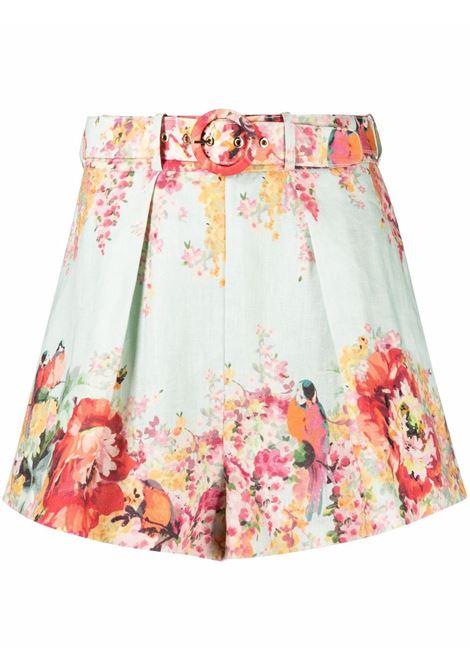 Shorts a fiori donna ZIMMERMANN | Shorts | 1900AMAEMIF