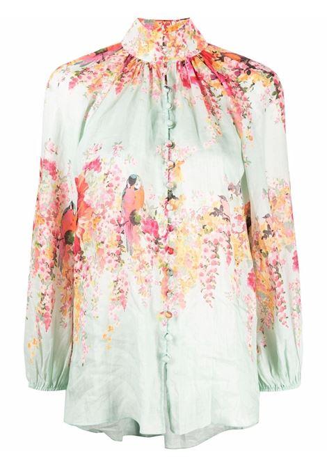 Blusa a fiori donna ZIMMERMANN | Bluse | 1901TMAEMIF