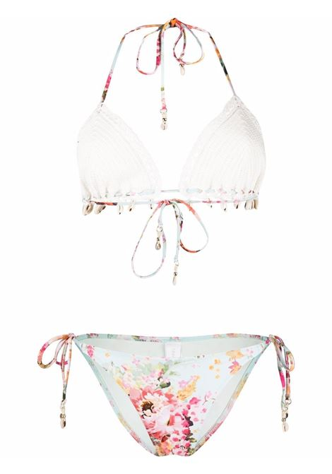 Bikini a fiori donna ZIMMERMANN | Costumi | 1942WMAEMIF