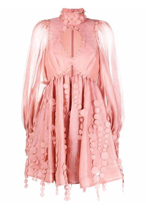 Short dress pink- women ZIMMERMANN | 2035DCONLIP