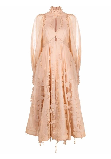 Mid dress peach- women ZIMMERMANN | 2036DTEMPEH
