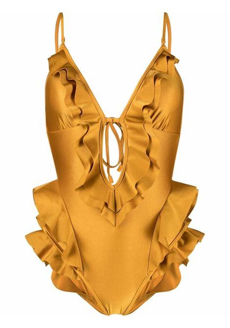 Tie-fastening ruffled swimsuit women ZIMMERMANN | 6528WALIGLD