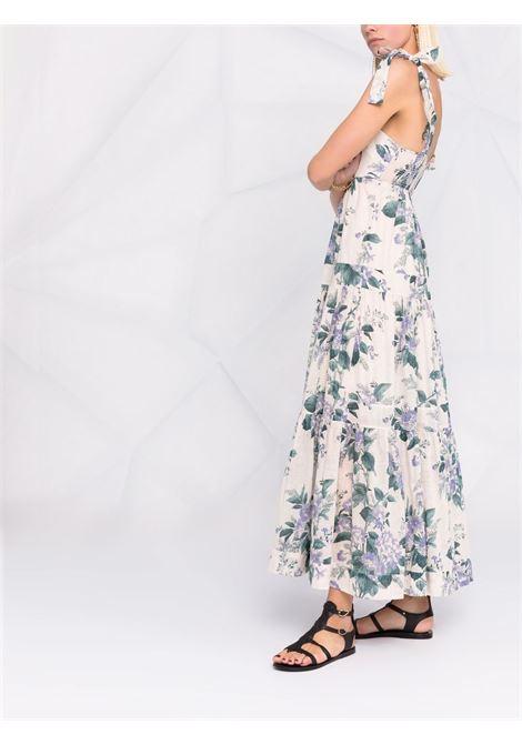 Floral-print tiered dress women ZIMMERMANN | 9746DCASHYFL