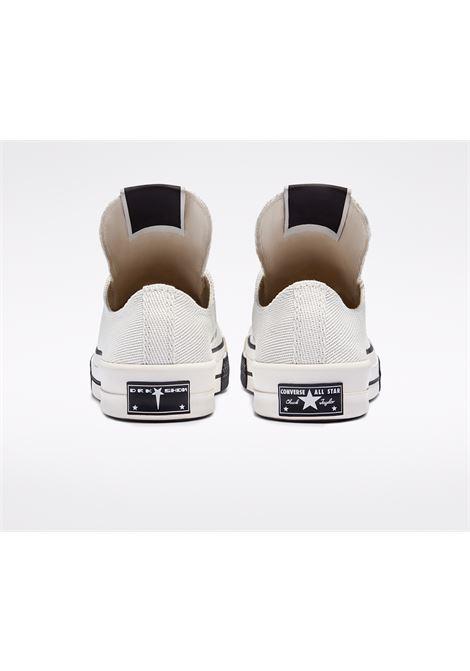 Sneakers basse con chiusura a lacci bianco- unisex CONVERSE X DRKSHDW | DC02AX766CTDR1111