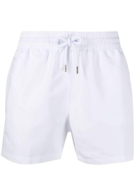 Sport drawstring swim shorts in white - men  FRESCOBOL CARIOCA | 110801