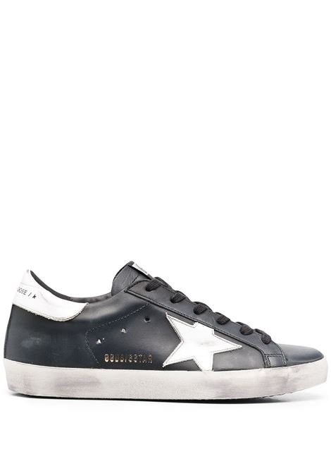 Sneakers basse super-star nero bianco- donna GOLDEN GOOSE   Sneakers   GWF00101F00032180203