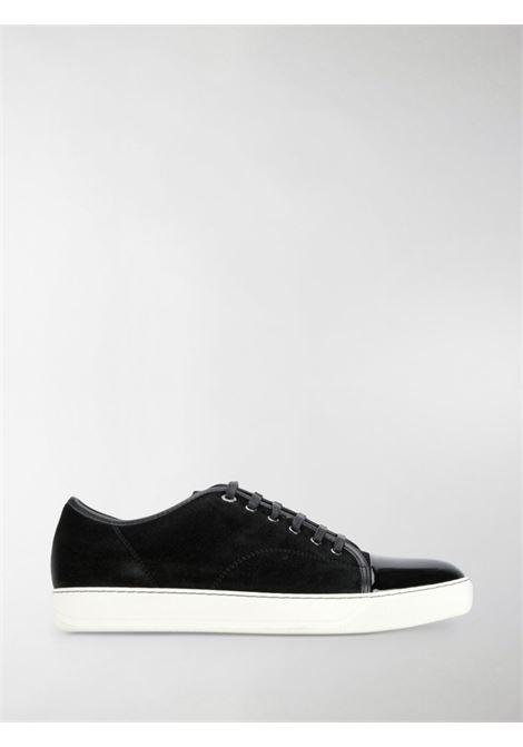 Sneakers con punta lucida nere - uomo LANVIN | FMSKDBB1VBAL10