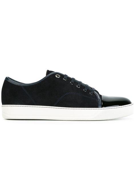 Sneakers con punta lucida blu - uomo LANVIN | FMSKDBB1VBAL24