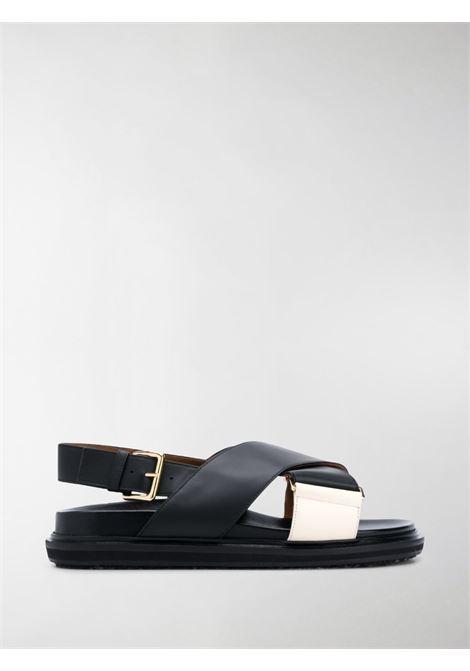 Fussbett sandals women MARNI | FBMS005201P3614ZM102