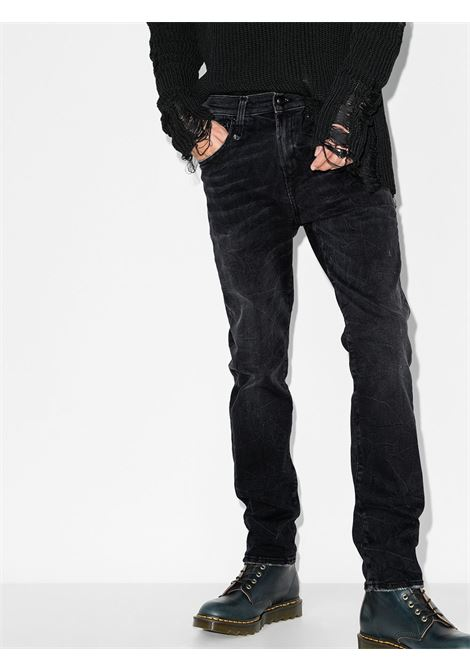 Slim skate jeans in black -men  R13 | R13MN019940111