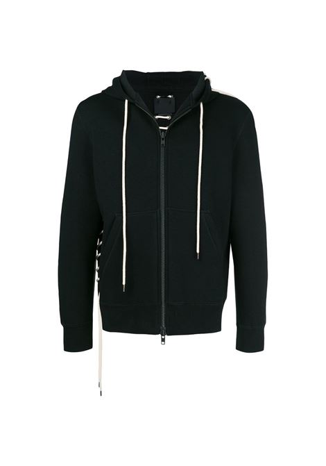Lace-up detail hoodie CRAIG GREEN | CGAW18CJEHO01BLK