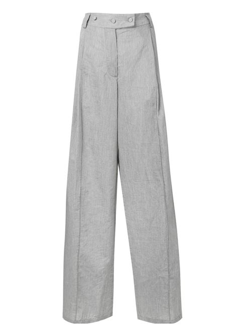 Wide-leg tailored trousers MAISON FLANEUR | Trousers | 19SMDPA547TE257GRY