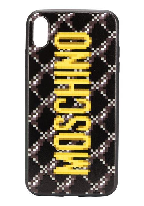 Cover per iPhone X con logo MOSCHINO | Cover | 3XA797983511555