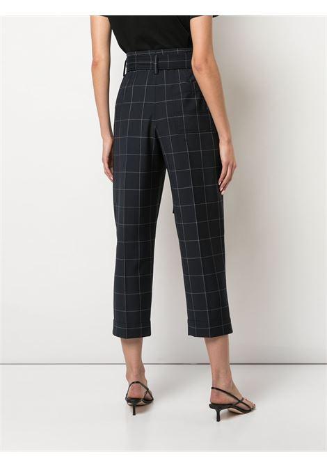 Pantaloni cropped con stampa a quadri Donna 3.1 PHILLIP LIM   E2015069WDPMI014
