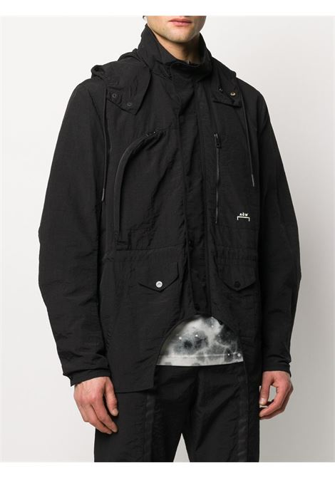 ACW x Diesel Red Tag logo hooded jacket A-COLD-WALL* | JK03BLCK