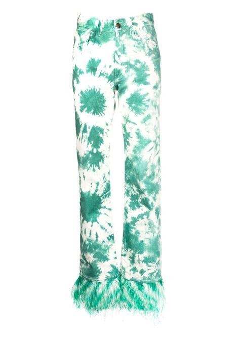 ALANUI Pantaloni ALANUI | Jeans | LWYA010S20DEN0025904GRN WHT