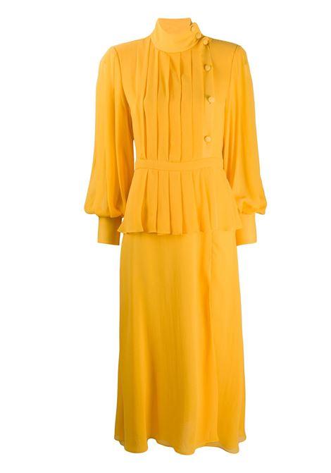 Layered pleated dress ALESSANDRA RICH | Dresses | FAB2128F28901624