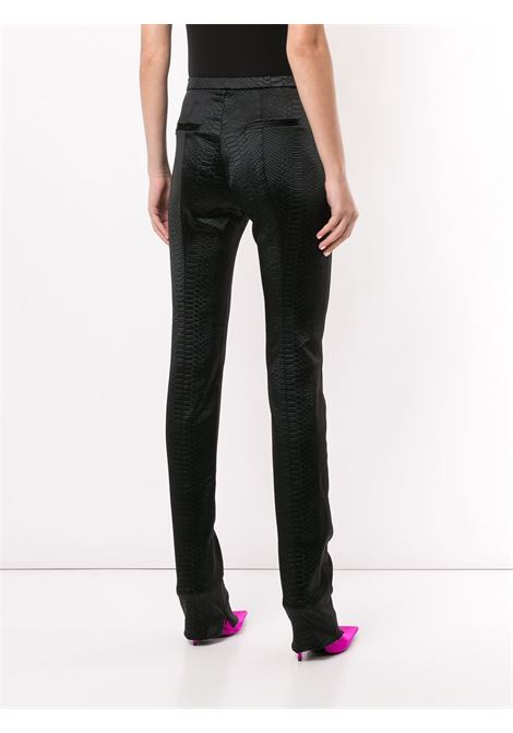 Kyle high waisted skinny trousers ALEX PERRY | P031BLK