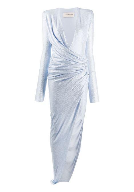 ALEXANDRE VAUTHIER V neck dress ALEXANDRE VAUTHIER | Dresses | 201DR1203B0191-1029BSKY