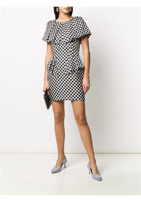 Polka dot mini dress ALEXANDRE VAUTHIER | 201DR124402011221WHT
