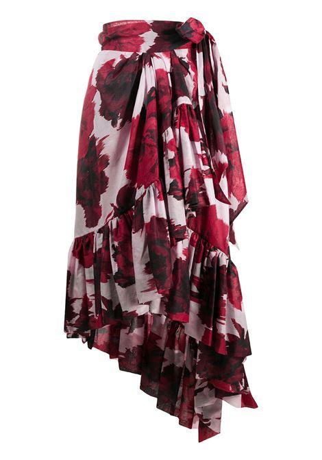 Floral print skirt ALEXANDRE VAUTHIER | Skirts | 201SK12100201-1218CHRRY