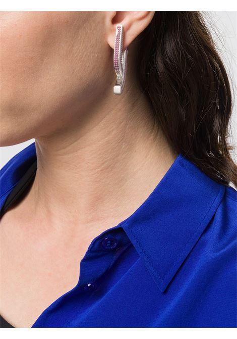 Orecchini con cristalli Donna AMBUSH | 12112132SLVRPNK