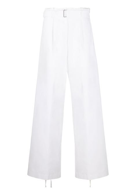 Buckle fastened trousers ANN DEMEULEMEESTER | Trousers | 20011418P195001