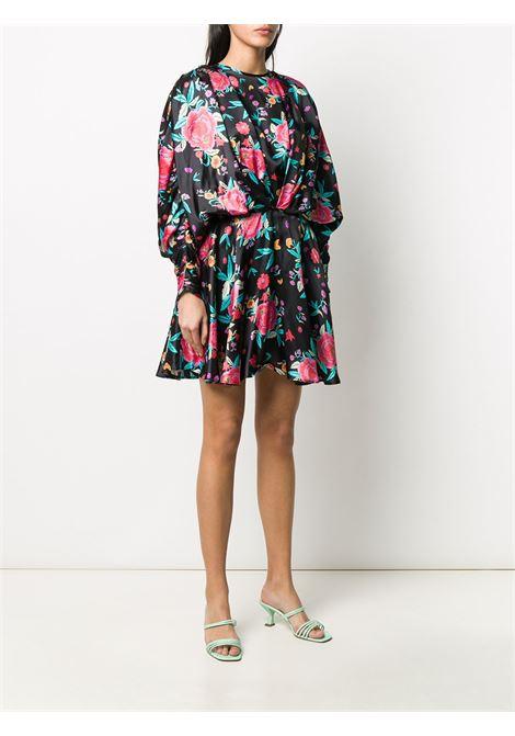 Abito con stampa floreale in stile rouches Donna THE ATTICO | 201WCA19P021079