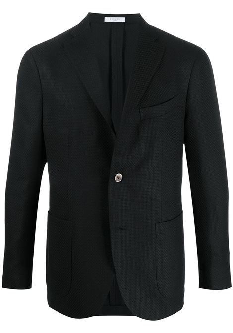 Textured single-breasted jacket BOGLIOLI | Blazers | N1302EBRC0370990