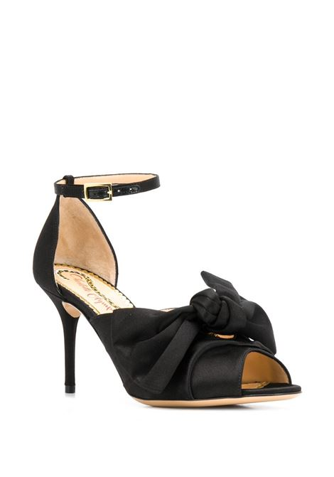 Sandals with bow CHARLOTTE OLYMPIA | OLC208024B01052SAT001