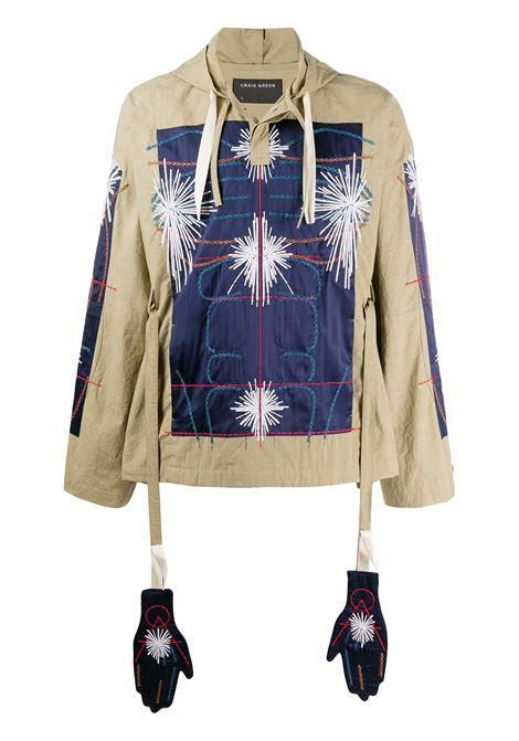 CRAIG GREEN Jacket CRAIG GREEN | Sweatshirts | CGSS20MWOSHI11NV