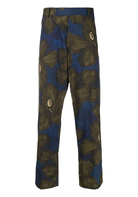 Pantalone multicolore DRIES VAN NOTEN | Pantaloni | 201209209003606