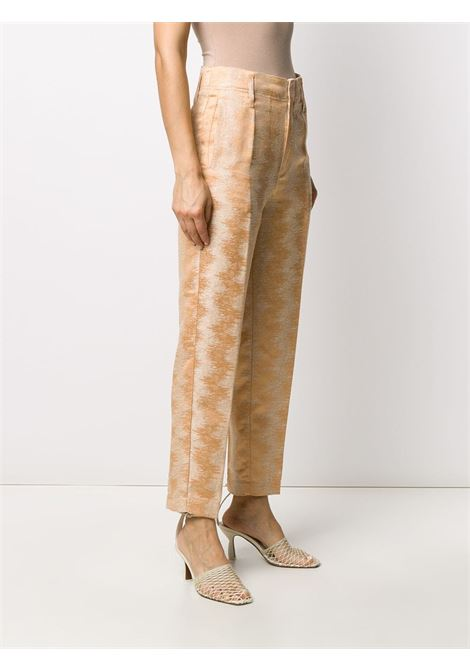 Pantaloni crop a vita alta Donna FORTE FORTE | 7056TRRCTT