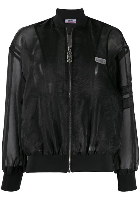 Sheer panel bomber jacket GCDS | Outerwear | W04001002