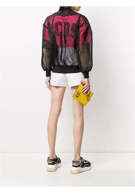 Sheer panel bomber jacket GCDS | W04001002