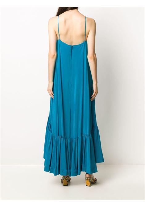 Ruffled hem silk dress GIANLUCA CAPANNOLO | 20EA1305008649