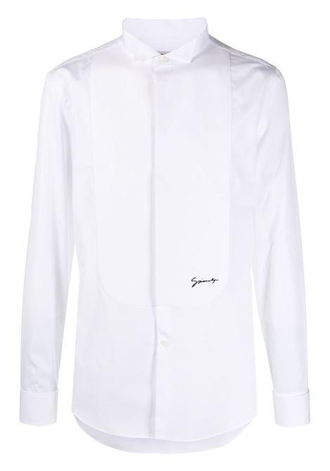 Camicia con ricamo Uomo GIVENCHY | Camicie | BM60E8100J100