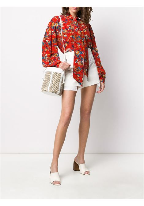 Floral-print pussy-bow shirt GIVENCHY | BW60P0131E618