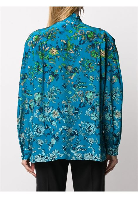 Floral print shirt GIVENCHY | BW60P0132T494