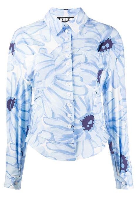 JACQUEMUS Camicia JACQUEMUS | Camicie | 201SH052012134EPRNT BL FLVR